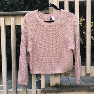 Divided H & M cable knit sweater
